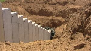 Gaza tunnel exterior.